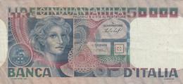 BANCONOTA ITALIA 50000 VF (HP183 - 50000 Liras