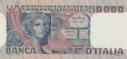BANCONOTA ITALIA 50000 VF (HP185 - 50000 Liras