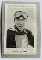 Image Carte Photo Ski Skieur Henri OREILLER Collection Félix Potin Célébrités Contemporaines 1952 - Winter Sports