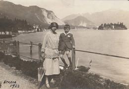 CARTOLINA CON FOTO STRESA 1923 (HP646 - Fotografia