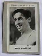 Image Carte Photo Athlétisme Coureur 800m Marcel Hansenne Collection Félix Potin Célébrités Contemporaines 1952 - Athletics
