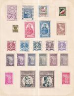 Austria German Österreich Poster Stamps Vignette Group  PLANT & FOREST CARE - Neufs