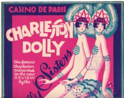 CHARLESTON DOLLY SISTERS CASINO DE PARIS 1926 Jack Roberts Musique HOWARD Mc KNIGHT JOE DAVISON Music  Partition Parole - Magazines - Before 1900