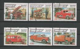 Cambodja 2001 Fire Fighters  Y.T. 1795/1800 (0) - Cambodia