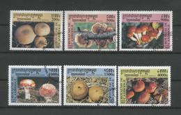 Cambodja 2001 Mushrooms  Y.T. 1801/1806 (0) - Cambodia