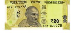 India P.110 20 Rupees 2019   Unc - India