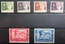 België, 1954 -- Nr. 955-60, OBP 21€ - Prachtig Centraal Gestempeld! - Gebraucht