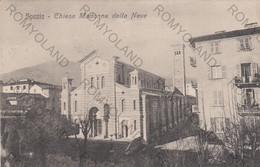 CARTOLINA  LA SPEZIA,LIGURIA,CHIESA MADONNA DELLA NEVE,MEMORIA,CULTURALE,RELIGIONE,STORIA,IMPERO ROMANO,VIAGGIATA 1909 - La Spezia