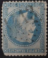 29A (cote 10 €) Déf, Obl GC 1413 Escurolles (3 Allier ) Ind 9 - 1849-1876: Klassik