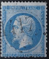 22 Obl GC 1417 Espezel (10 Aude ) Ind 7 ; Frappe Nette & Centrée - 1849-1876: Classic Period