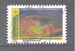France Autoadhésif Oblitéré N°1948 (Mosaïque De Paysages - Littoral Morbihan) (cachet Rond) - Gebruikt