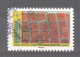 France Autoadhésif Oblitéré N°1949 (Mosaïque De Paysages - Parc à Huîtres Charente-Maritime) (cachet Rond) - Gebruikt