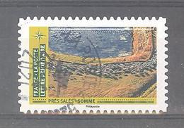 France Autoadhésif Oblitéré N°1952 (Mosaïque De Paysages - Prés Salés Somme) (cachet Rond) - Gebruikt