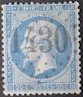 22 Obl GC 1430 Estissac (9 Aube ) Ind 4 ; Frappe Très Nette & TB Centrée - 1849-1876: Classic Period