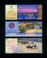 EGYPT / 2013 / TOURISM / UTOPIA RESORT ; MARSA ALAM ( RED SEA ) / HURGHADA  : MAKADI & SAHL HASHEESH / MNH / VF - Nuovi