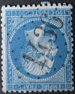 22a Obl GC 1436 Etang-sur-arroux (70 Saone & Loire ) Ind 6 ; Frappe Très Nette & TB Centrée - 1849-1876: Classic Period