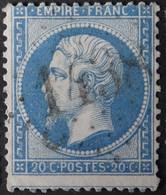 22 Piquage, Obl GC 1438 Etauliers (32 Gironde ) Ind 11 ; Frappe TB Centrée - 1849-1876: Classic Period