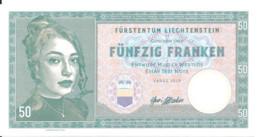 LIECHTENSTEIN 50 FRANCS 2019 UNC Specimen Private Issue - Liechtenstein