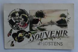 Carte Postale : 33 Souvenir D'HOSTENS, En 1931 - Other Municipalities