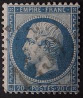 22a Obl GC 1450 Evaux (22 Creuse ) Ind 6 - 1849-1876: Classic Period