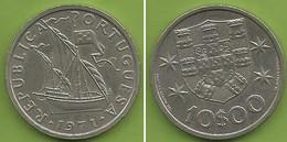 Portugal - 10$00 1971 - Portugal