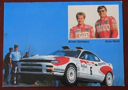 Equipage  Schwarz- Hertz Sur Toyota Celica Turbo 4WD - Rally Racing