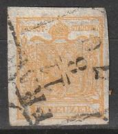 """Österreich, Austria  1850 """"PRAG 11-8-70"""" MiNr. 1X (Handpapier Mit Wz) - Used Stamps"""