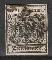 Österreich, Austria  1850 MiNr. 2Y (Machinenpapier, OWz) - Used Stamps