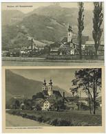 DEUTSCHLAND - 2 KARTEN - ASCHAU - 1919 / 1924 - Non Classés