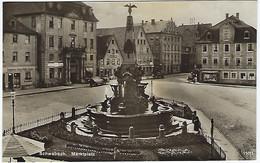 DEUTSCHLAND - SCHWABACH - Marktplatz - 1928 - Schwabach