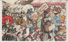 Judaica Carte Allemande 1907 Caricature Juifs Marchands Levi Cohen - Europe