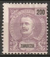 Zambezia 1898 Sc 31  MNG - Zambèze