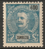 Zambezia 1903 Sc 33  MH* Some Disturbed Gum - Zambèze
