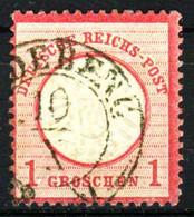 D-REICH Nr 19 Zentrisch Gestempelt X336EE6 - Gebraucht