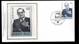 FDC Zijde : Nr 3097:  Stempel: 2020 Antwerpen - 2001-10