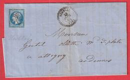 N°22 GC 1786 HERBLAY SEINE ET MARNE CAD TYPE 22 ATTIGNY ARDENNES INDICE 12 - 1849-1876: Klassik