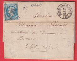 N°22 GC 1647 GEVREY CHAMBERTIN COTE D'OR OR DE BARGES POUR BEAUNE - 1849-1876: Klassik