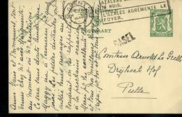 Entier  ; Obl. GENT 10  - 1935  + Griffe De BASEL - Langstempel