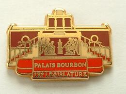 PIN'S PALAIS BOURBON - IX éme LEGISLATURE - ARTHUS BERTRAND - Arthus Bertrand