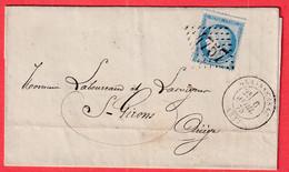 N°60 GC 4757 GRAISSESSAC HERAULT POUR ST GIRONS ARIEGE COMPAGNIE 4 MINES REUNIES - 1849-1876: Klassik