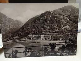 Cartolina Appennino Reggiano Ligonchio Frazione Di Ventasso Prov Reggio Emilia  Centrale Idroelettrica Ozola 1955 - Reggio Emilia