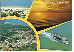 33123 LE VERDON-POINTE DE GRAVE - La Ville, La Gironde, Le Bac Pour Royan - Andere Gemeenten