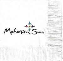 Mohegan Sun Casino - Uncasville, CT - Paper Napkin - Company Logo Napkins