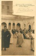 "CPA MAROC ""Fez, Israélites Réfugiés"" / JUDAICA - Fez"