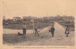 62 - WISSANT - Vue Des Villas De Derrière - Wissant
