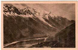 41hm 1723 CPA - CHAMONIX MONT BLANC - PANORAMA DE LA CHAINE DU MONT BLANC - Chamonix-Mont-Blanc