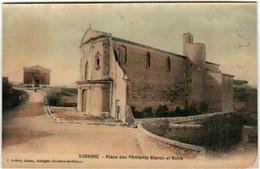 41hm 1924 CPA - AUBAGNE - PLACE DES PENITENTS BLANCS - Aubagne