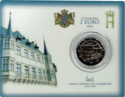 Luxembourg Coincard 2012 Grand Duc Guillaume - Luxembourg