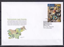 SLOVENIA 2021,Slovenia Part Of The  European Regions Of Gastronomy ,Food,MNH - Slovenia