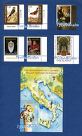 SERIE EUROPA POSTEUROP - SISTO V - SS PIETRO PAOLO - S IGNAZIO LOYOLA - S. ANTONIO PADOVA Francobolli MNH 25 Maggio 2021 - Ongebruikt